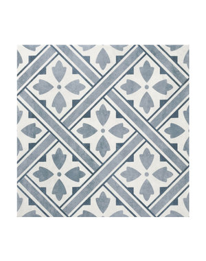 Laura Ashley Laura Ashley Mr Jones Midnight Floor Tile 33x33cm