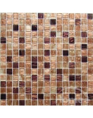 Luxury Tiles Sandstone Square Glass Mosaic Tile