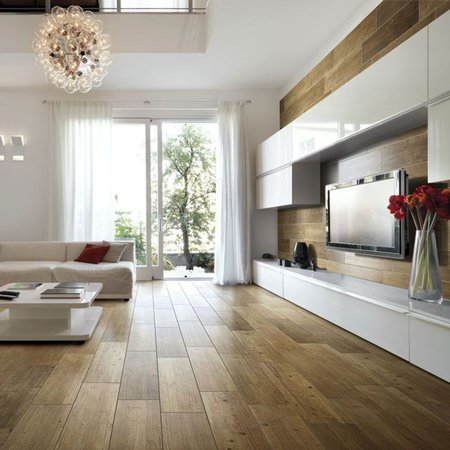 Dark Oak Stain wood effect floor tile