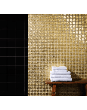 Luxury Tiles Gold stone Glass Mosaic Tile