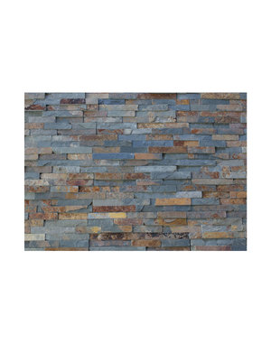 Multicolour Slate Split Face Tile 100x400mm
