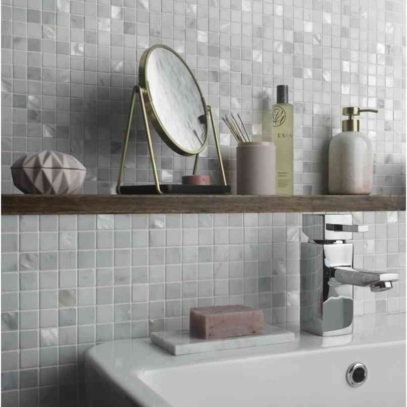 Mosaic Tile Bathroom Image Of