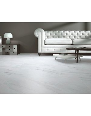 Calacatta Blanco Marble effect tile 80cm x 80cm
