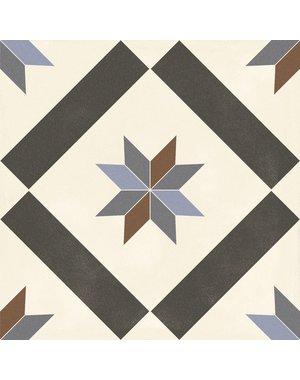 Luxury Tiles Geometric Victorian Style Porcelain Floor Tile