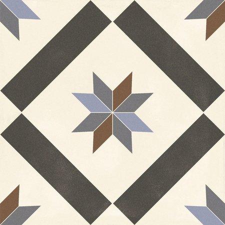 Luxury Tiles Geometric Victorian Style Porcelain Floor Tile 333 x 333 mm