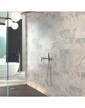 Luxury Tiles Carrara Matt White Marble Effect Wall Tile