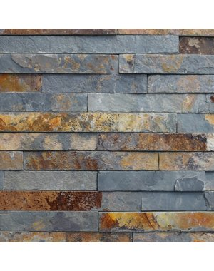Luxury Tiles Rustic Slate Split Face Tile Cladding 100x360mm