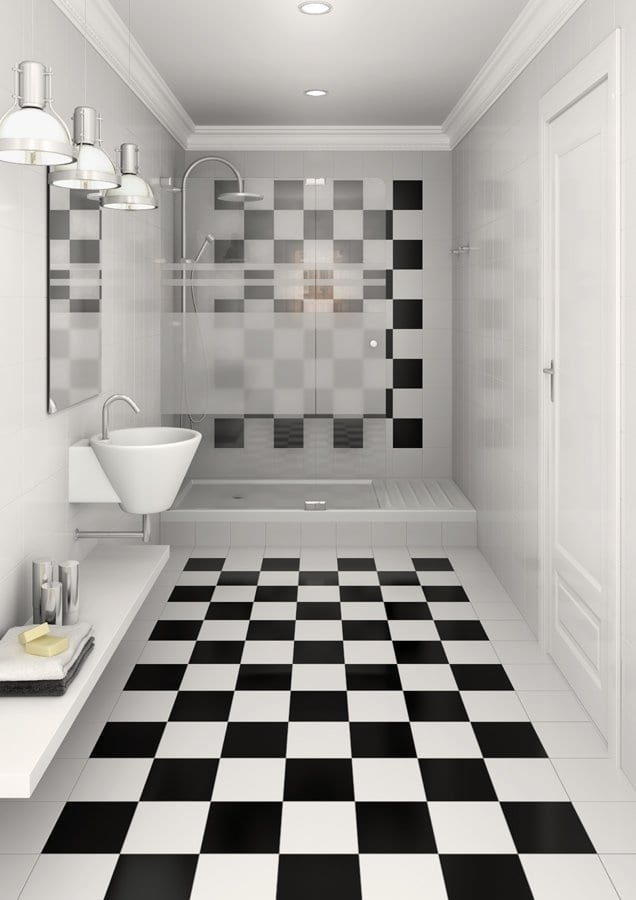 Alaska Square Floor And Wall Tile