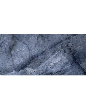Luxury Tiles Venetian Blue Stone Marble effect Tile 30x60cm