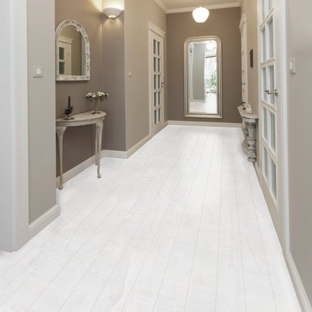 Luxury Tiles Chloe White Floor tile 15 cm x 90 cm