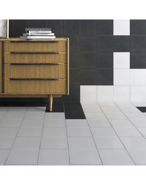 Luxury Tiles Fitzgrovia White and Black wall & floor tile