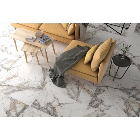 Luxury Tiles Venice Marble effect polished porcelain wall and floor 1200 x 600mm tile