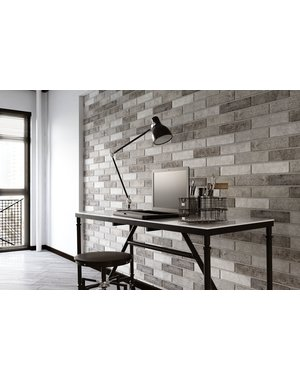 Luxury Tiles New York Grey Brick Wall tile