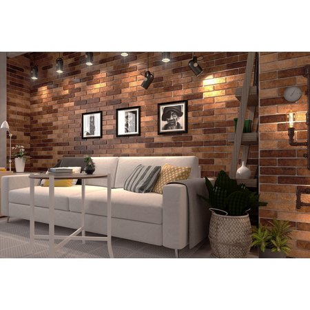 Luxury Tiles New York Red Brick Effect Wall 60 x 250mm tile