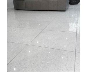 Shimmer Blanco White Sparkling Quartz Tile Luxury Tiles