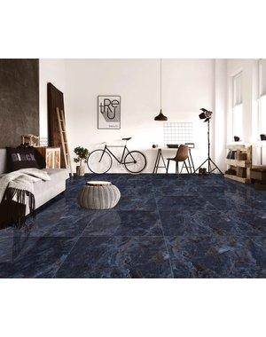 Luxury Tiles Luxury Venetian Blue Floor and wall Tile 60x60cm