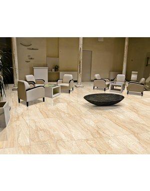 Luxury Tiles Venetian Marfil Creama Gloss 60×60 Floor & Wall Tile