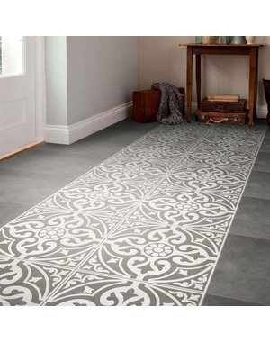 Luxury Tiles Kingsbridge Grey Patterned Wall and Floor Tiles  330 x 330mm