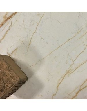 Luxury Tiles Crema Marble effect vein polished porcelain tile