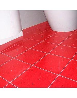 Luxury Tiles Shimmer Red Ruby Sparkling Quartz Tile