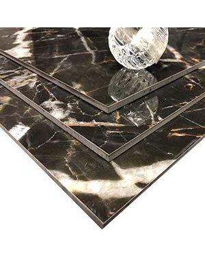 Luxury Tiles Black Marble Effect Vein Porcelain Tile