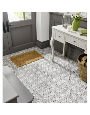 Laura Ashley Mr Jones Charcoal Wall & Floor Tiles