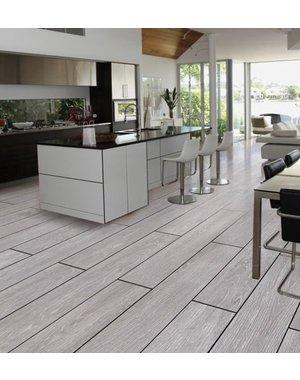 Luxury Tiles Sophia Light Grey Wood Effect Porcelain Tile