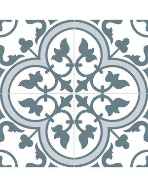 Luxury Tiles Cambridge Blue Pattern Tile