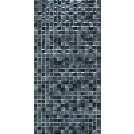 Luxury Tiles Charlotte Black Mosaic Effect 500 x 250 mm Tile