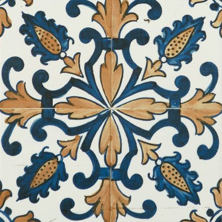 Luxury Tiles Vintage Moroccan pattern wall and floor 200 x 200 mm tile