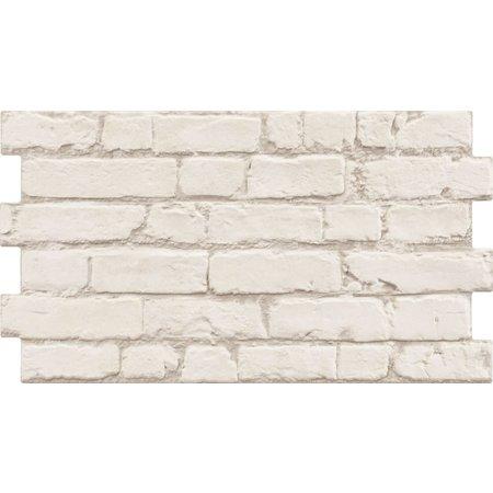 Luxury Tiles Victorian Urban White Brick Effect 316 x 560 mm Tile