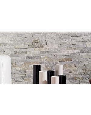 Luxury Tiles Split Face Oyster Quartzite Natural Stone 10x36cm
