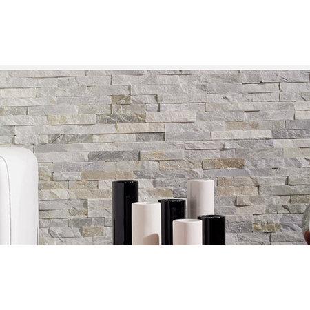 Luxury Tiles OYSTER BEIGE BRICK SPLIT FACE Slate 100x360mm