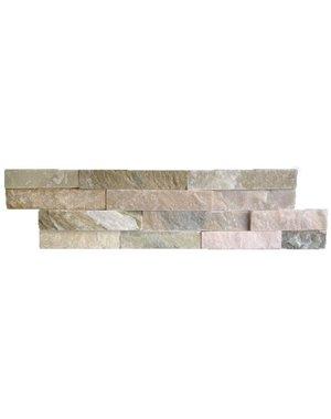Luxury Tiles Split Face Oyster Quartzite Natural Stone 10x36cm