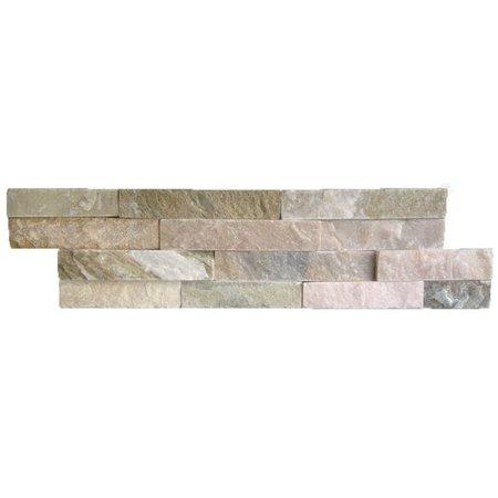 Luxury Tiles Oyster Beige Split face slate tile 100x360mm