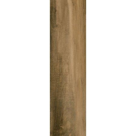 Luxury Tiles Cambridge Dark Oak Wood Effect 589 x 153 mm Tile