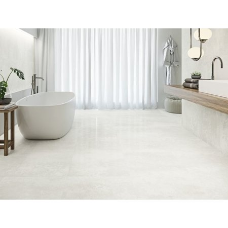 Luxury Tiles Light Silver Polished 800 x 800 mm tile
