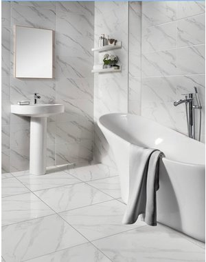 Luxury Tiles Blanco Calacatta Marble Effect Tile