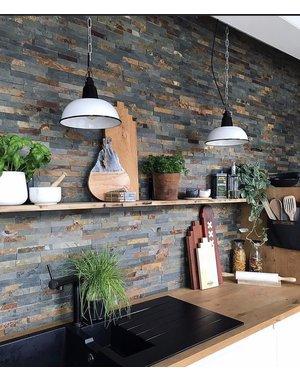 Luxury Tiles Rustic Slate Split Face Tile Cladding 100x400mm