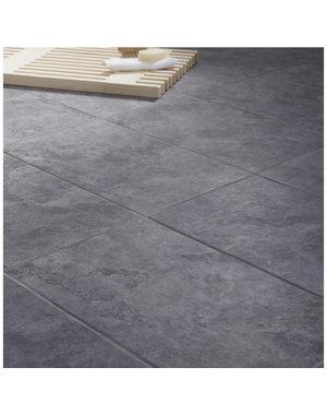 British Ceramic Tiles Oscano Riven  Graphite Wall & floor tile 30cmx50cm