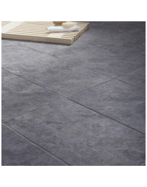British Ceramic Tiles Oscano Riven  Graphite Wall & floor tile