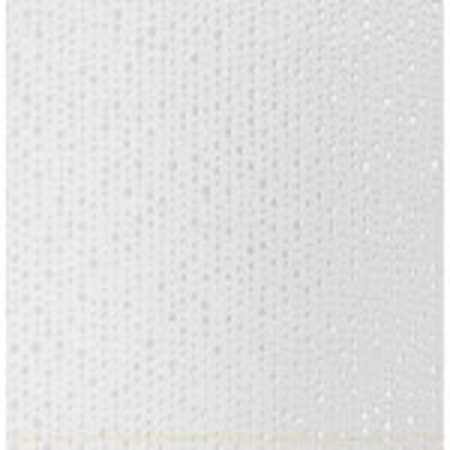 studio conran RAN00736 Trace Tiles by Studio Conran Linea Point Decor White Matt 248mm x 498mm