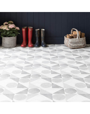 British Ceramic Tiles Samantha Grey Matt Wall & Floor Tiles - 33 x 33cm