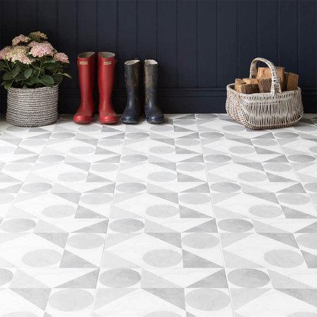 British Ceramic Tiles Samantha Grey Matt Wall & Floor Tiles - 331 x 331mm BCT57857
