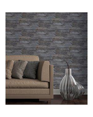 Luxury Tiles Deep Grey Wood Peel and Stick Tile