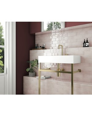 Luxury Tiles Blush Gold 200x65mm Wall Tile