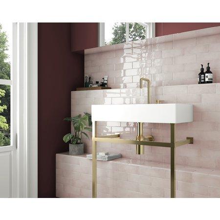 Luxury Tiles Blush Gold 20x6.5cm Wall Tile