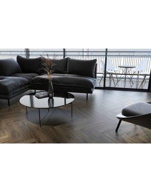 Luxury Tiles Wimbledon Dark Walnut Wood Effect Floor Tile