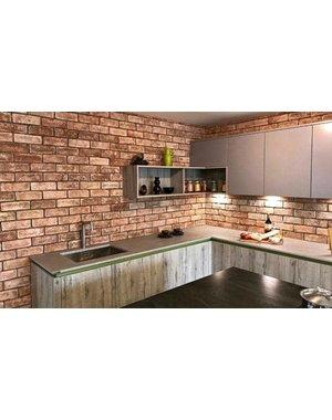 Luxury Tiles Victorian Limewashed Handmade Brick Slip
