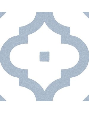 Luxury Tiles Kingsly Blu Pattern Porcelain Tile